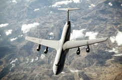 C-5 Galaxy heavy airlift