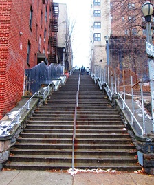West 187th Street stairs to Ft. Washington Avenue