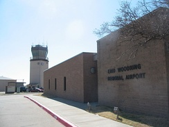 Enid's Woodring airport, named after barnstormer I.A. Woodring, was the first municipally owned airport in Oklahoma