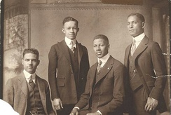 Four African-American students, Class of 1921