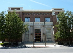 The Bakersfield Californian Building is also listed on the NRHP.