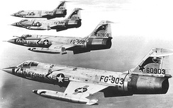 F-104s of the 479th Tactical Fighter Wing[note 2]