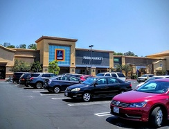 New style of Aldi Süd in Simi Valley, CA, USA