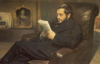 Portrait of Alexandre Benois by Léon Bakst, 1898
