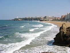 Biarritz Beach (French Basque Country)