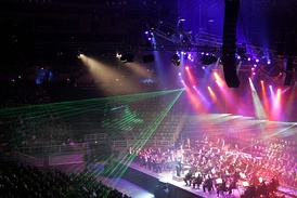 Lighting at the 2005 Classical Spectacular Concert