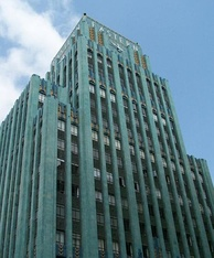 The Eastern Columbia Building is a well known Art Deco building in Downtown Los Angeles