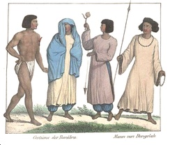Nubians from the early 19th century