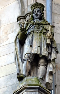 Statue of George I by Carl Rangenier in Hanover