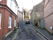 Waldron RoadA very narrow two way road by London standards, also close to Harrow School