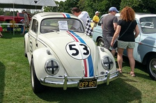 Original film car used in The Love Bug