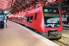 4th generation S-train at Copenhagen Central Station