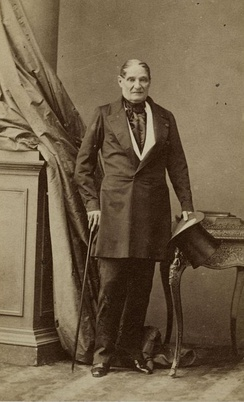 Jérôme Bonaparte in 1852