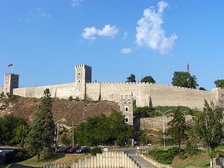 Skopje Fortress, where Dušan adopted the title of Emperor at his coronation