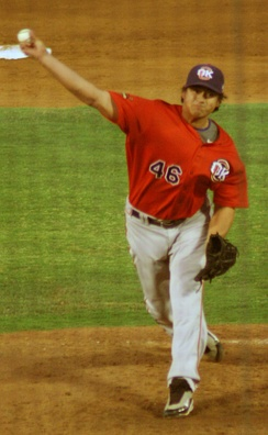 Luis Mendoza pitched a no-hitter for the RedHawks on August 14, 2009.