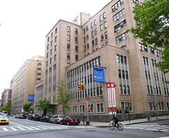 Roosevelt Hospital, where Lennon was pronounced dead, pictured in 2009