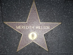 Star on the Hollywood Walk of Fame at 6411 Hollywood Blvd.