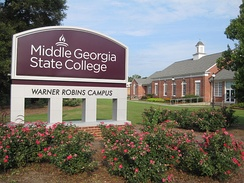 Middle Georgia State College in Warner Robins