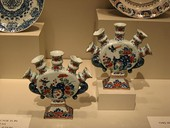 Pieces from the porcelain collection in the Art Institute of Chicago