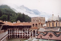 Rila monastery in Bulgaria, UNESCO World Heritage Site