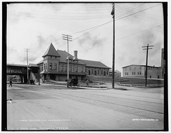 Rockford Station ca. 1890