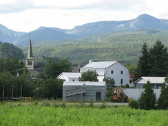 Charlevoix is known for its hilly landscape.