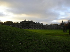 East front of Wentworth Woodhouse in 2004.