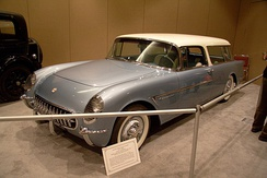 Reproduction of the 1954 Chevrolet Nomad concept