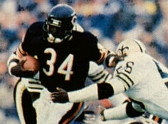 Payton set several franchise and NFL records in rushing during his 13-season career with the Bears