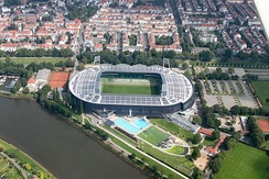 Weser-Stadion is the home ground of Werder Bremen