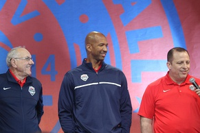 Boeheim, Monty Williams, and Tom Thibodeau served as assistant coaches for the 2014 United States FIBA World Cup team.
