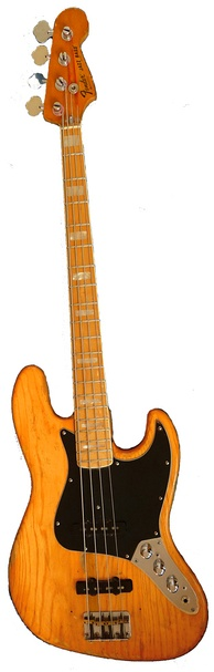 1970s Fender Jazz Bass with maple fretboard