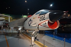 F-8J Crusader on display at the Air Zoo
