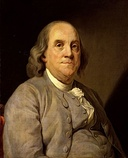 Ben Franklin (left) and Elbridge Gerry urged adoption of an origination clause.[10]