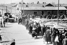 Hungarian Jews arriving at Auschwitz II, May/June 1944