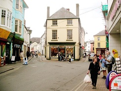 The High Street, Brecon
