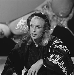 Eno appearing on Dutch television (1974)