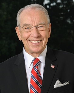 Republican Senator from Iowa, Chuck Grassley, has been Chairman of the Senate Judiciary Committee since 2015.