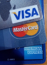 Visa, MasterCard, American Express are card-issuing entities that set transaction terms for merchants, card-issuing banks, and acquiring banks.