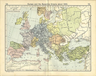 Europe in 1000, with most European states already formed