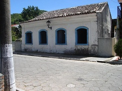 Colonial Portuguese house in the Brazilian city of Florianópolis.