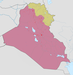 Military Situation in Iraq in May 2020