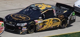The team's No. 36 car in 2013