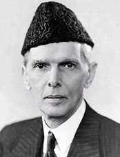 Muhammed Ali Jinnah, the Father of Pakistan and the 1st Governor-General of Pakistan