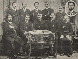 The Commission of the Manastir Congress in a rare photo (1908).
