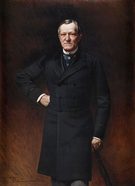 Gubernatorial portrait of Levi P. Morton