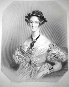 Adelaide Lister, Russell's first wife (d. 1838)