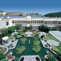 Lake Palace in Udaipur, was commissioned by the Maharana of Udaipur State.