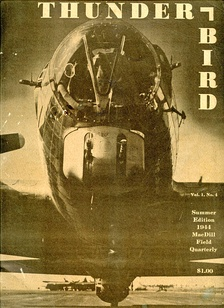 The Thunderbird, a magazine that was printed quarterly at MacDill Army Air Field, Summer 1944 edition