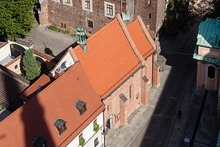 Church of Saint Giles seen from above